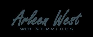 Arleen West Web Services Logo